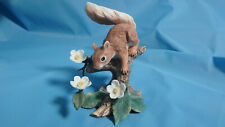 Lenox Woodland Animal Collection Springtime Scamper Red Squirrel 1989 in box