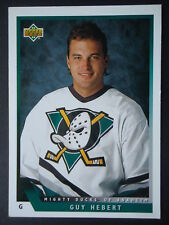 NHL 1 Guy Hebert Mighty Ducks of Anaheim Upper Deck 1993/94