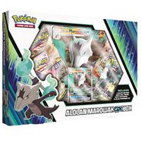 Alolan Marowak GX Box Collection Pokemon TCG 4 Booster Packs + Promo Sun Moon