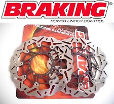 BRAKING DISCHI FRENO ANTER WAVE FLOTTANTI per DUCATI 1000 PAUL SMART LE 2006