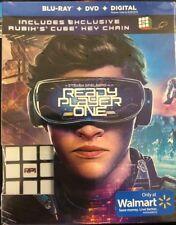 READY PLAYER ONE (Blu-ray + DVD + Digital + Bonus Rubik's Cube)