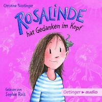 CHRISTINE NÖSTLINGER - ROSALINDE HAT GEDANKEN IM KOPF   CD NEW