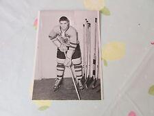 Original Ed BLONDIN Harringay Racers 1950's Ice Hockey Photo