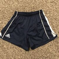 Adidas Climacool Womens S Polyester Blue Gray White Athletic Shorts A48