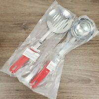 Easy Hang Utensils Pack of 2 Slotted Spoon and Ladle 51280 191121260258
