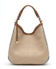 Nali Cream and Tan Side Stripe Shoulder Bag RRP £72.00