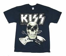Kiss Monster Skull Tour 2013 Stockholm Blue T Shirt New Official Band Merch NOS
