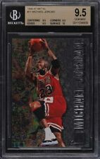 1996 Metal Michael Jordan #11 BGS 9.5 Gem Mint