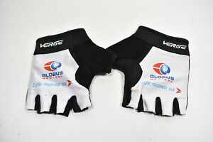 Lot 2 Verge Men's Small Cycling Gloves Globus Medical White