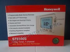 HONEYWELL ST9100S PROGREAMMER WITH BOILER SERVICE REMINDER ST9100S1007