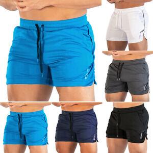 Herren Einfach Kurze Sporthose Training Gym Fitness Einfach Kordelzug Laufshorts