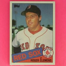 ROGER CLEMENS  1985  ROOKIE  Topps  #181   Boston Red Sox   RC1    hb