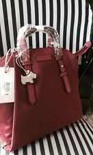 RADLEY MEDIUM ZIPTOP DARK RED BACKPACK NWT