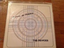 The Devices Heroes de Plastico VVV Records circa 1981 Dallas punk rock