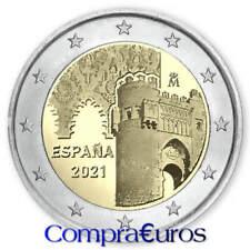 2 Euros Conmemorativos ESPAÑA 2021 *Ciudad Histórica de Toledo* Sin Circular