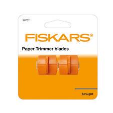 FISKARS PAPER TRIMMER LAME TRIPLETRACK di taglio retto 9675t