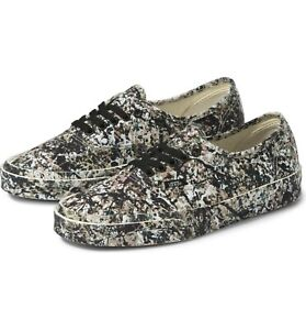 Vans X MoMA Authentic Jackson Pollock Sneakers Limited-Edition 2020 Size 6.5