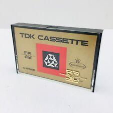 Vintage TDK Blank Cassette Tapes C-60SD Super Dynamic Japan