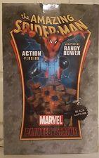 Amazing Spider-Man Bowen Black Costume Action Version Statue Marvel #151/425 New