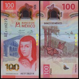Mexico 100 Pesos (2020), Sign.24:Carrillo-Rabiela, Polymer