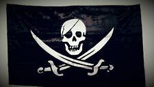 Drapeau Pirate / Corsaire / TETE de Mort / Pirate Flag - 145 cm x 90 cm