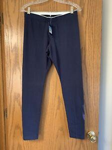 NWT Women's NIKE Navy Graphic Athletic Legging 880014 Medium