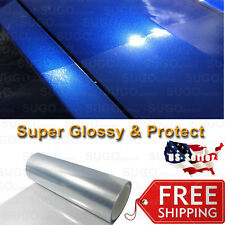 "72""x 5FT Premium Clear Bra Paint Protection / Restore Vinyl Wrap Film DIY"