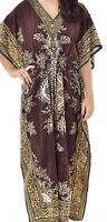 Ladies Women's New Summer Floral print Long kaftan dress african style 12 to 24