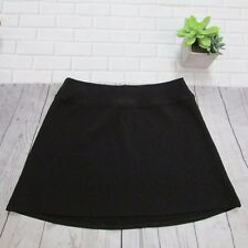 Land's End Tennis Skirt Size S (6-8) Women's Black Stretch Fabric Sports  Golf
