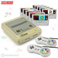 SNES Konsole + Controller + Spiele / Großes Nintendo Set / auch mit Super Mario