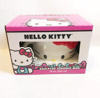 Hello Kitty Big Ceramic Mug 18 oz  Coffee Tea Soup Mug NEW in BOX
