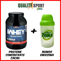Enervit Gymline Muscle 100% Whey Proteine Concentrate Cacao 900 g + Shaker
