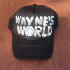 Wayne's World cap or hat adjustable size In great condition we ship intrnational