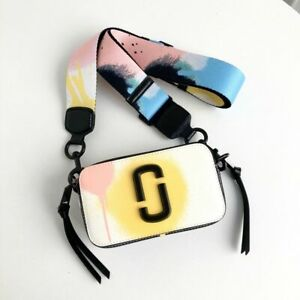 The MARC JACOBS Snapshot Small Camera-style Bag Handbag Purse Crossbody Shoulder