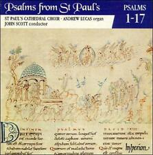 Psalms from St. Paul's Cathedral Choir Vol. 1 Psalms 1-17 CD Hyperion