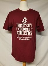 Jersey City Colored Athletics Baseball T Shirt Brand New With Tags  Large