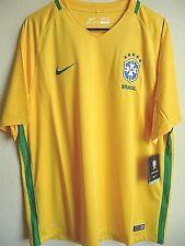 Nike Mens 2xl Brasil Brazil Home Football Soccer Jersey Yellow 724597-703 Futbol XL