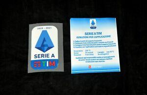 Official Serie A TIM 2020/21 patch/badge for football shirt Calcio