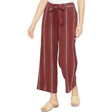 Santuario para Mujer Boho de tobillo recortada pantalones de pierna ancha BHFO 7058