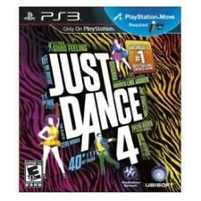 PLAYSTATION 3 PS3 GAME JUST DANCE 4 BRAND NEW & FACTORY SEALED
