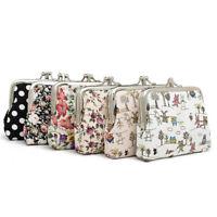Cute Canvas Women Coin Purse Wallet Girl Little Bag For Ladies Pouch Wallets▁