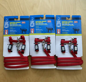 Catit Adjustable Harness And Leash Set Size Small