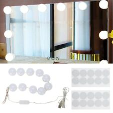 Hollywood Style Makeup LED Vanity Mirror Lights Kit with 10 Dimmable Light Bulbs