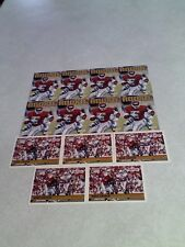 *****Mike Gaddis*****  Lot of 36 cards.....3 DIFFERENT / Football
