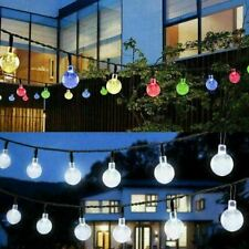Solar Powered 100LED String Light Garden Path Yard Decor Lamp Outdoor Waterproof