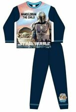 Boys STAR WARS MANDALORIAN pyjamas (BLUE) 5-12yrs - nightwear, long pjs