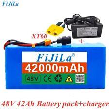 48V 42Ah 1000 watt battery Pack Ion 54.6v e-bike scooter bike & charger
