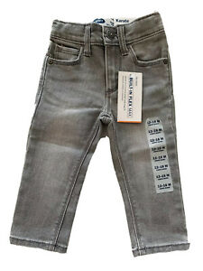 Old Navy NEW Toddler Boys Karate Skinny Gray Jeans 12-18 Months