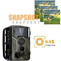 1080P HD Hunting Trail Camera PIR IR LED Motion Activated Security Wildlife