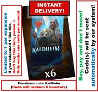 MAGIC MTG Arena Code: 6 Boosters Packs. Kaldheim Prerelease (KHM) INSTANT EMAIL